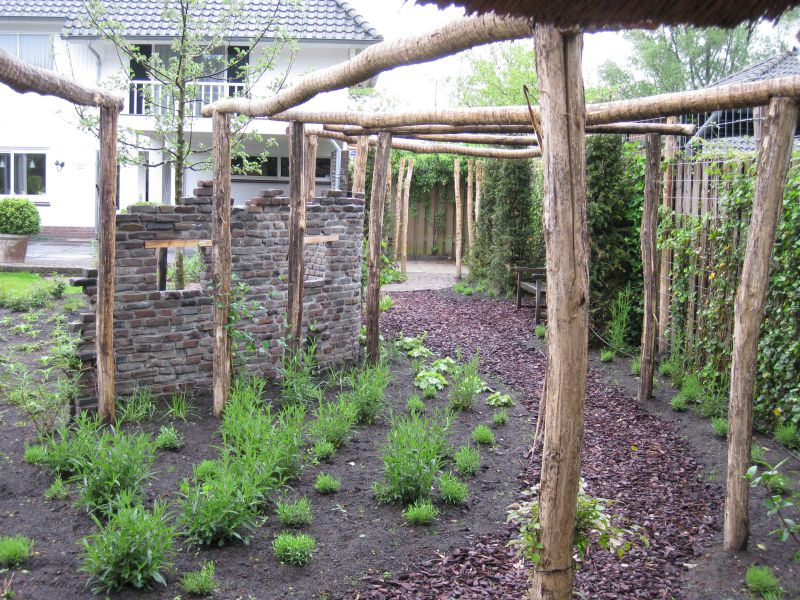 Pergola In Tuin : Pergola nature tree robiniawood