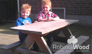 Picknicktafel kindermodel Robinia Wood