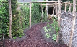 Janssen Beek en Donk tuin met Robinia pergola (11)