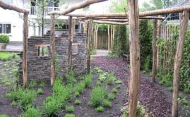 Janssen Beek en Donk tuin met Robinia pergola (9)